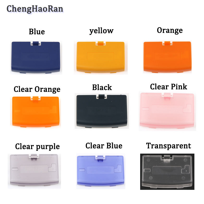 ChengHaoRan 13 цветов 1 шт. для Nintend Gameboy advance GBA игровая консоль Крышка батарейного отсека чехол