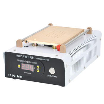 Latest 110V/220V Manual LCD 7 Inch Separator Machine Built-in Vacuum Pump For Touch Screen Repair 948Z oilless vacuum pump match with oca laminating machine for broken phone screen repair lcd separator 220v 4l