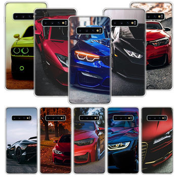 Blue Red for Bmw Case for Samsung Galaxy S10 S20 Ultra Lite NOTE 10 9 8 S9 S8 + S7 Edge J4 J6 J8 2018 Plus Phone Coque image
