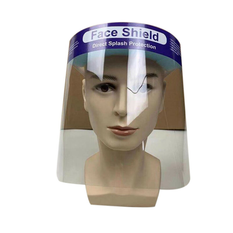 UK New Safty Face Shield Clear Flip-Up Visor Industry Dental Medical Work Guard