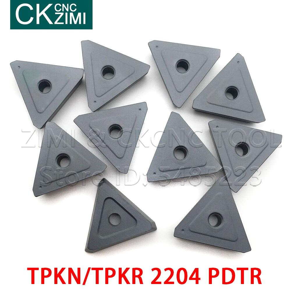 TPKN 2204 PDTR TPKR 2204 PDTR Carbide Inserts Milling Inserts Tools Cutter Lathe Blade CNC Tools Cutting Turning Tools TPKN2204