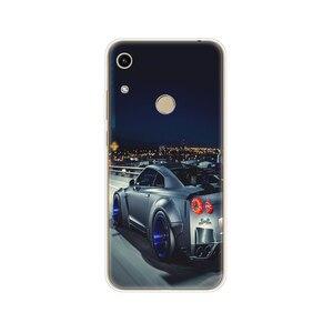 Image 5 - Onur için 8A kılıf Huawei onur için 8A başbakan durumda silikon TPU sevimli geri durumda Huawei onur 8A JAT LX1 kapak cep telefonu çantası