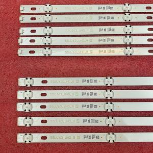 Image 5 - 10 sztuk/zestaw listwa oświetleniowa LED dla LG 55UJ635V 55UJ6307 55UJ634V 55UJ630V 55UJ635 SSC_55LJ55/55UJ63_B w Eav63632405 EAV63673005