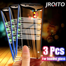 3 Pcs กระจกนิรภัยสำหรับ Huawei P30 Lite P20 Pro P 2019 หน้าจอป้องกันกระจกนิรภัยสำหรับ HUAWEI Mate 10 20 Lite