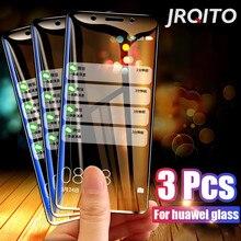 Vidrio Templado 3 uds para Huawei P30 Lite P20 Pro P Smart 2019 Protector de pantalla de vidrio Protector para Huawei Mate 10 20 Lite Glass
