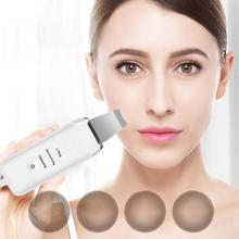 Yfashion Ultrasonic Face Pore Cleaner Ultrasound Skin Scrubber Galvanic Ion Spa Beauty Device Face Massager Face Lift Machine