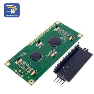 Image 4 - 1602 16 × 2 HD44780 arduinoのキャラクター 5v液晶ブルースクリーン 1602A iic/I2CシリアルPCF8574 インタフェースアダプタプレートモジュールdiyキット