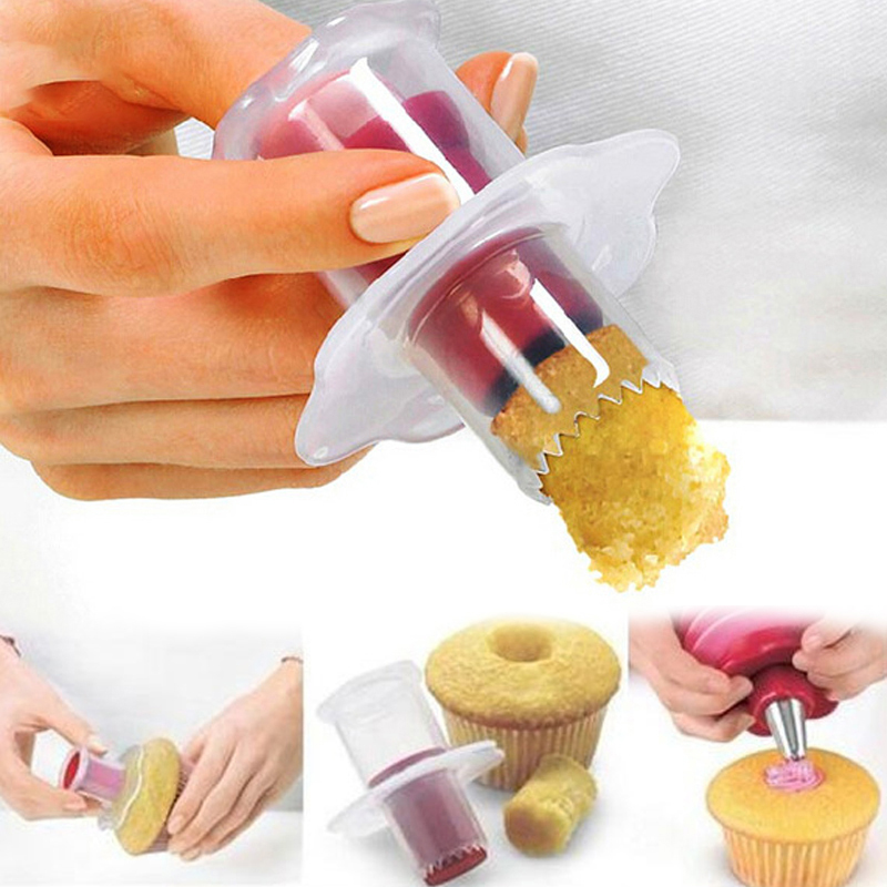 Cupcake Corer Muffin Cake Hole DIY Cake Cored Device Remove Muffin Cup Cakes Baking Dessert Pastry Decoration Baking Tools
