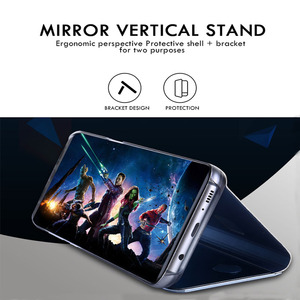 Умный зеркальный чехол для телефона Xiaomi Redmi K30 Note 8 7 6 5 K20 Pro 8T 4 4X 7A 8A S2 5 Plus Mi 10 9 8 SE Lite 9T A1 A2 5X 6X