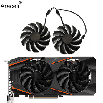 New 88MM PLD09210S12HH Cooling Fan For Gigabyte GeForce GTX 1050 Ti RX 480 470 570 580 GTX 1060 G1 GTX 960 Graphics Card Cooler image