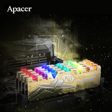 Apacer – mémoire de serveur d'ordinateur de bureau, PANTHER RAGE, modèle DDR4, capacité 8 go 16 go, fréquence d'horloge 2666/3200/2666MHz, RAM 3200 originale, DIMM, compatible avec carte mère