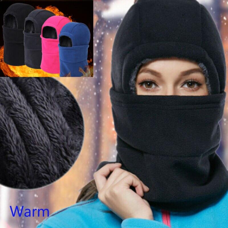 Мягкая Балаклава с защитой от ветра, теплая маска, шапка, зимние уличные спортивные грелки, лыжные маски, велосипедные лыжные шапочки, шапки ...