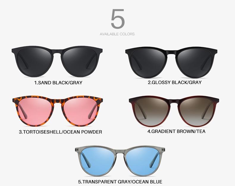 Hf941ec47da5f4f64876a67c5ecef4f49j AEVOGUE New Women Polarized Korean Fashion Sunglasses Men Driving Retro Outdoor Glasses Brand Design UV400 AE0816