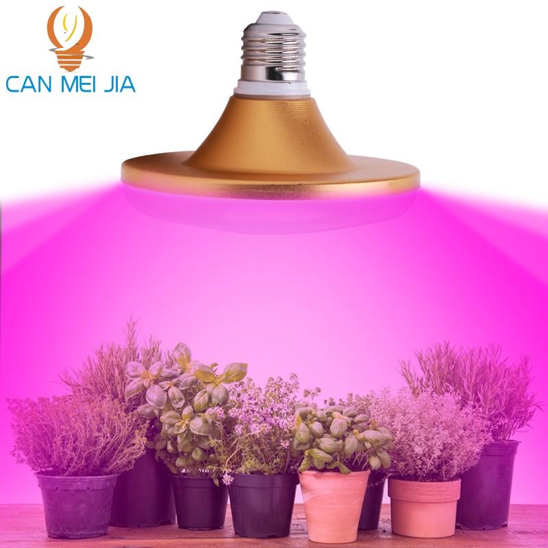 E27 Led Grow Light Bulb Full Spectrum 85-265V Growing Lamps Lights For Plants Phytolamp Indoor Garden Hydroponic Flower Tent Box
