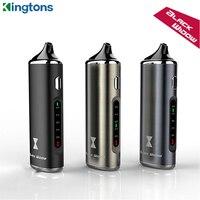 Kingtons-vaporizador de hierbas secas Black Widow, cigarrillo electrónico con batería de 2200mAh, Kit de vaporizador Herbal seco, Original