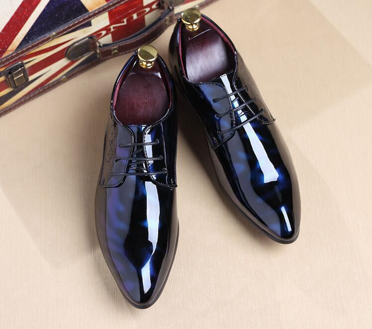 Роскошные Дизайнерские Кожаные броги; мужские туфли на плоской подошве; повседневные мужские оксфорды в британском стиле; модные модельные туфли; большие размеры; chaussures