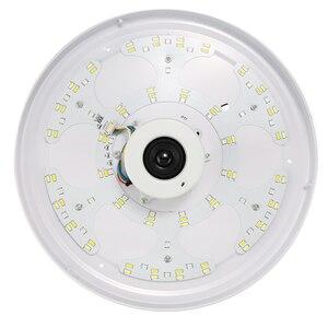Image 5 - Altavoz inalámbrico LED con Bluetooth y Control remoto, lámpara de Panel de luz RGB de techo regulable para dormitorio