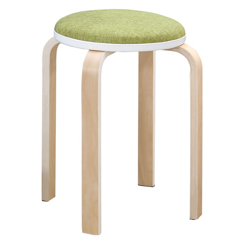 Simple Stool Home Stool Fashion Dressing Stool Makeup Stool Fabric Stool Creative Bench Dining Table Stool Chair