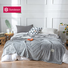 Современное волшебное флисовое серое одеяло sondeson простыня