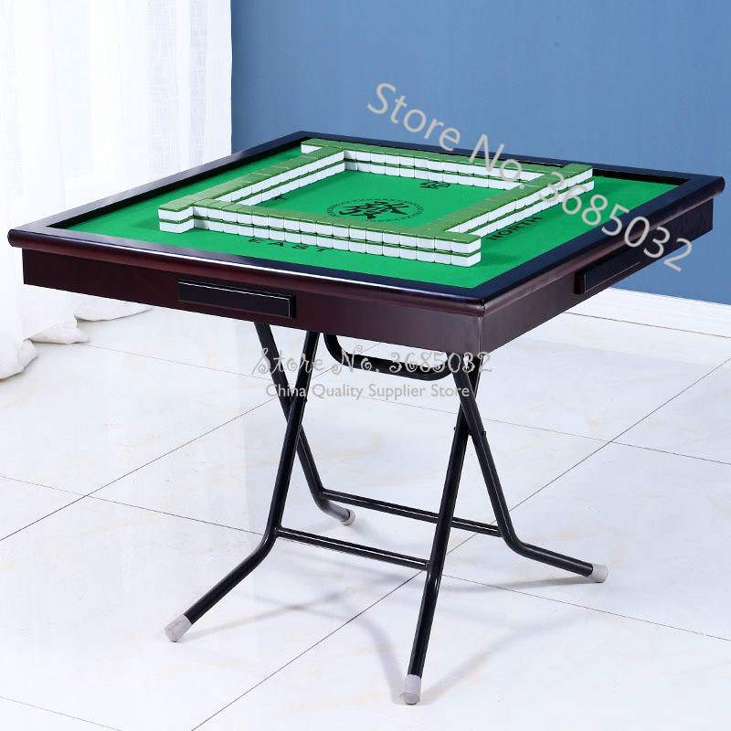 Folding Mahjong Table Home Simple Chess Table Intelligent  Poker Tables Ruleta Chupitos Practical Fieltro Verde Entertainment