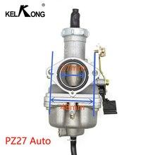 KELKONG OEM ForKeihin PZ27 PZ30 אופנוע קרבורטור Carburador משמש עבור הונדה CG125 עבור 175CC 200cc 250cc אופנוע אופני עפר