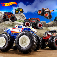 1:64 Hot Wheels Monster Tracks Diecast Car Toys Collection Model Trucks Assortment Metal 2020 Boys Toys for Children Kids Gifts