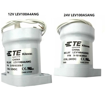 Relé de cc de alto voltaje, bobina de 12V/ 24V 3-1618389-7 LEV100A4ANG, nuevo vehículo de energía 9-1618389-8 LEV100A5ANG 1