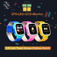 Q90 GPS WIFI Touch Screen GPS Baby Anti-lost  Smart Watch SOS Call Location Device Tracker Smartwatch English/Russian Version