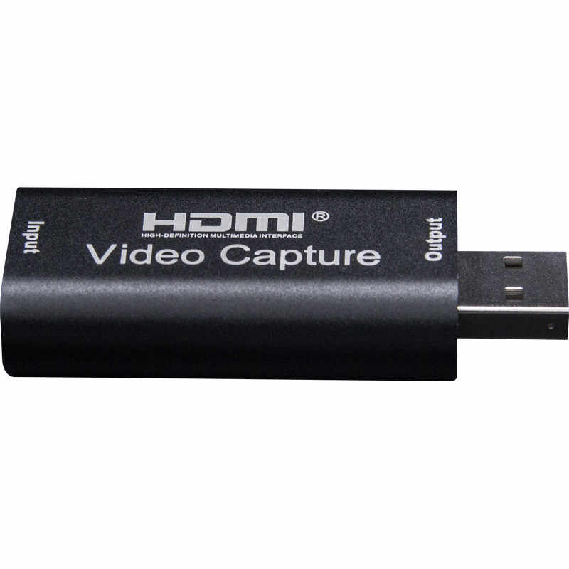 H1111Z 4K Video Capture Card USB3.0 2.0 HDMI Video Grabber Catatan Kotak untuk PS4 Permainan DVD Camcorder Kamera Merekam live Streaming