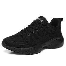 Кроссовки женские теннисные спортивная обувь сетчатые на шнуровке