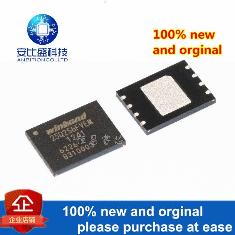 1pcs 100% New And Orginal W25Q256FVEIM Silk-screen 25Q256FVEM 256Mbits QFN In Stock