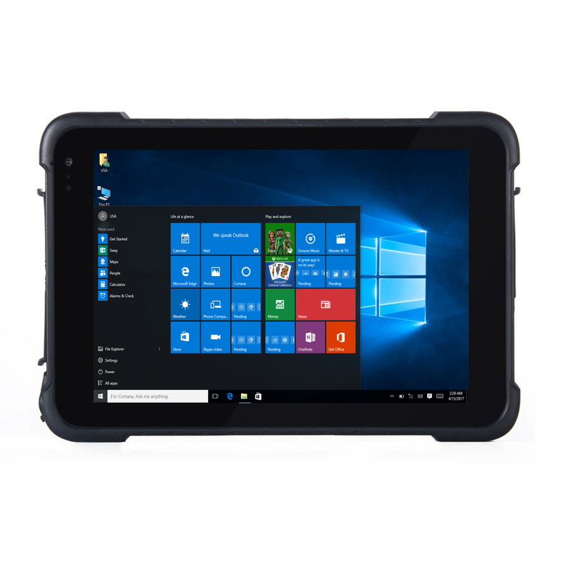 Original K86H Tablet PC Windows 10 Pro Mobile Car Computer 8 Inch Phablet 4GB RAM 64GB ROM Waterproof HDMI USB 8500mAH 4G GPS|Tablets| |  - title=