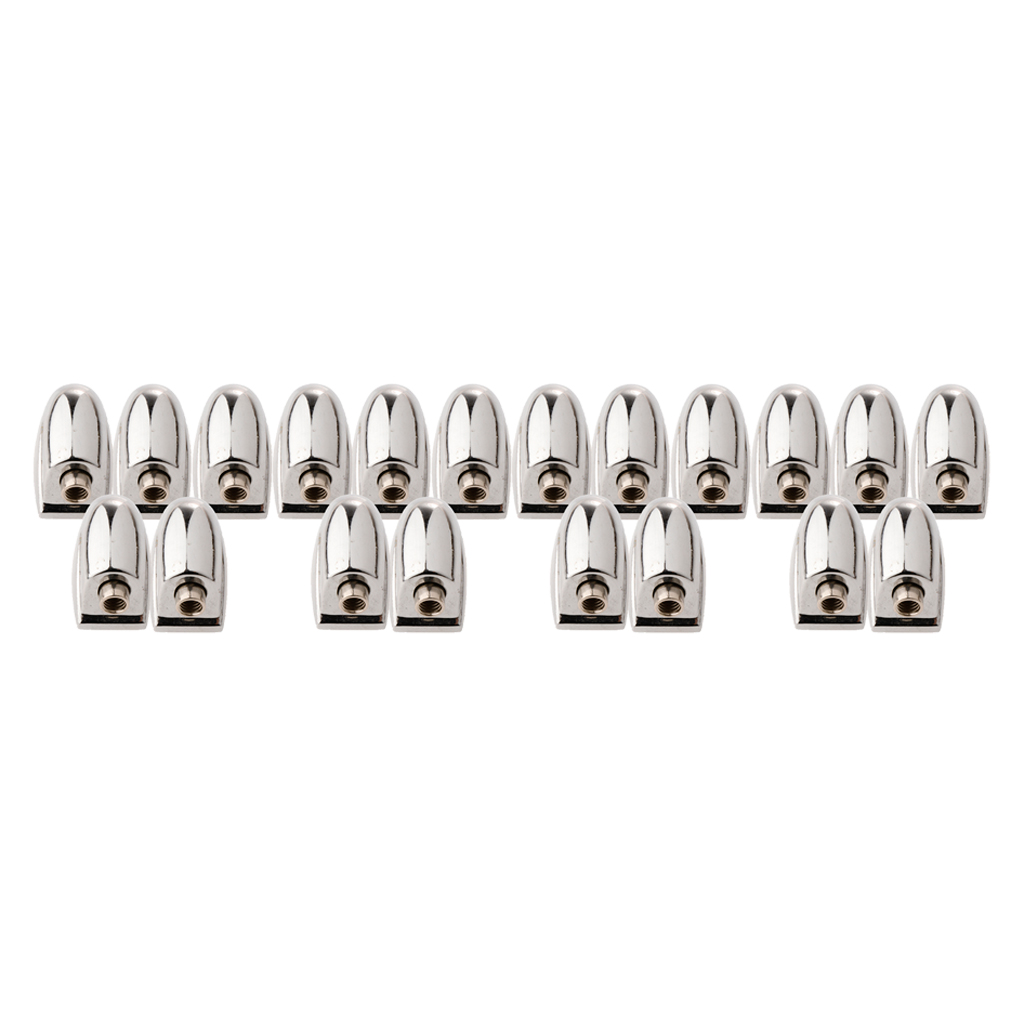 20 X Metal Claw Hook Snaredrum Lug For Drum Set Kit Accessory