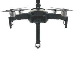 Para dji mavic ar 360 graus de rotação vr câmera panorâmica suporte montagem à prova de choque 1/4 parafuso base titular para gopro acessório