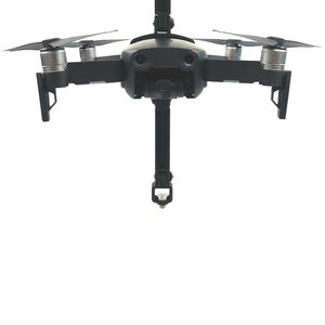 Image 1 - for DJI Mavic Air 360 Degree Rotating VR Panoramic Camera Shockproof Mounting Bracket 1/4 Screw Base Holder for Gopro Accessory