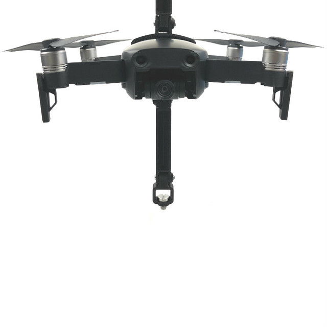 for DJI Mavic Air 360 Degree Rotating VR Panoramic Camera Shockproof Mounting Bracket 1/4 Screw Base Holder for Gopro Accessory