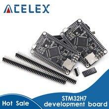 STM32H750VBT6 STM32H743VIT6 STM32H7 STM32 M7 da Placa Do Sistema Placa de Núcleo Placa de Desenvolvimento TFT Interface com Cabo USB