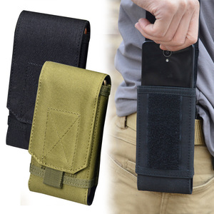 5.5 Inch Outdoor Military Cell Phone Running Pouch Case Waist Holster Tactical Molle Mobile Belt Hunting Holder Bag Phone