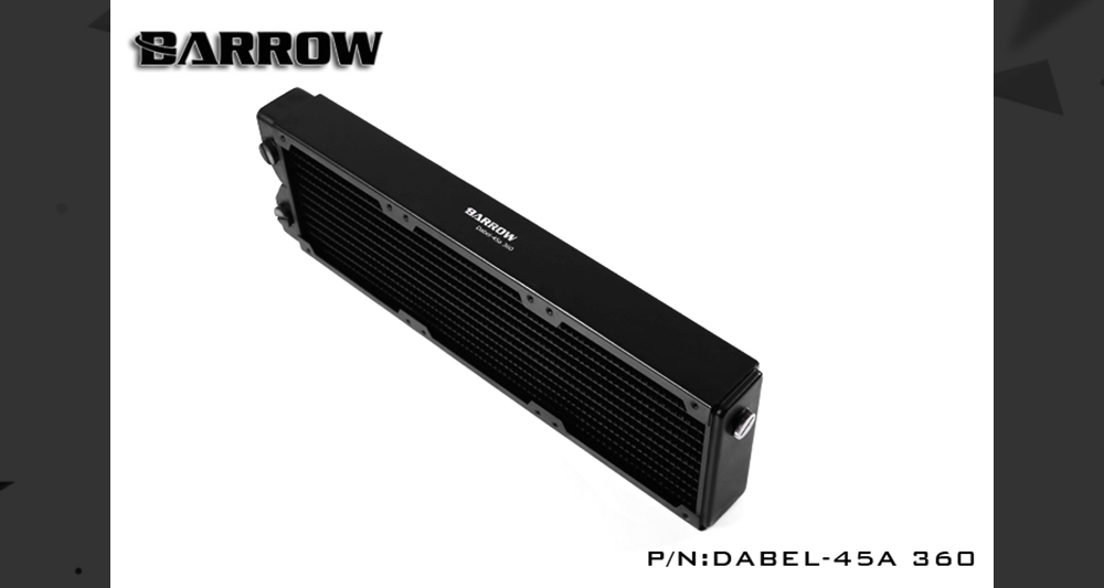 Barrow Dabel-45A 360, 45mm Thicknes 360mm Radiator, Copper Thick Plus Type Water Cooler, Suitable For 120mm Fans