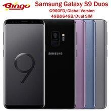 Samsung Galaxy S9 G960FD Ursprüngliche Globale Version Android Telefon Exynos Octa Core 5.8