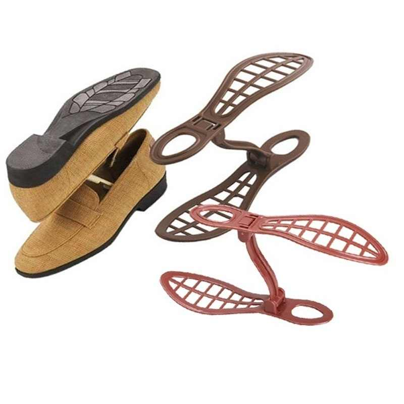 Foldable Shoe Holder Racks Double Cleaning Storage Shoes Rack Living Room Convenient Shoebox Shoes Organizer Stand Shelf
