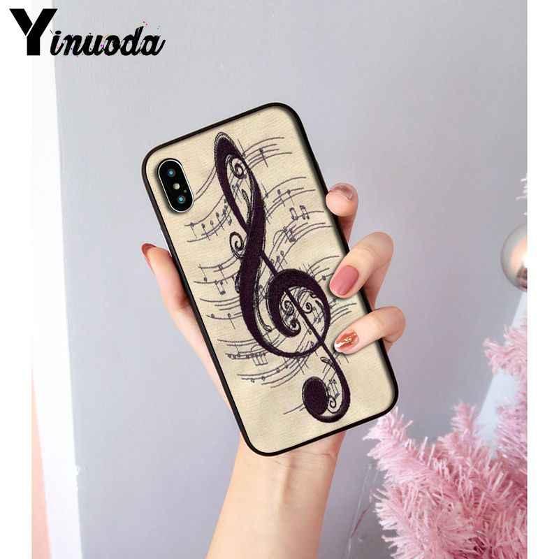 מוסיקלי הערות כינור מוסיקה קלאסית יוקרה מקרה טלפון עבור Apple iPhone 11 8 7 6 6S בתוספת X XS מקסימום 5 5S SE XR 11 פרו כיסוי