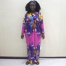 Muslim Dress Abaya Arab Women Floral Africa Dresses Dubai Party Kaftan Long Sleeved Robe