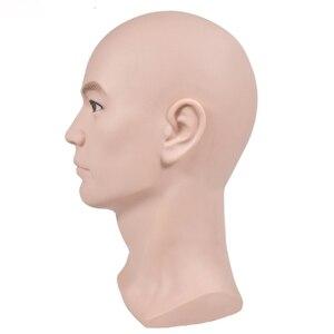 Image 2 - mannequin display model head stand with shoulder wig support styrofoam manikin head