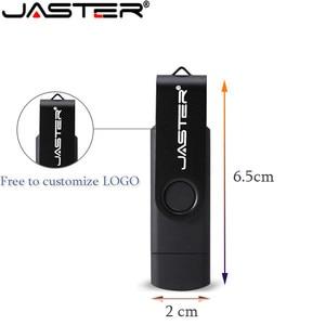 Image 2 - JASTER girevole USB 2.0 4GB 8GB 16GB 32GB 64GB Flash Drive/Disk con stampa Logo personalizzata per regali aziendali promozionali