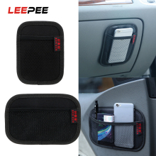LEEPEE укладка Tidying Ткань Оксфорд Автомобильная сетка для хранения сумка автомобильный карманный многофункциональный автомобильный органайзер для спинки сиденья