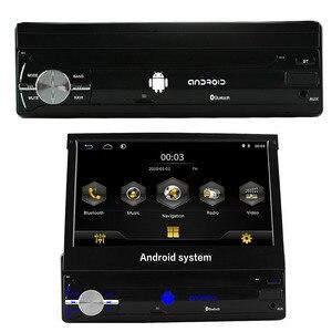 "Image 3 - อัตโนมัติวิทยุติดรถยนต์1 Din Android 7 ""GPS นำทาง Bluetooth กล้อง AM RDS 1080P USB หน้าจออัตโนมัติเครื่องเล่นมัลติมีเดีย"