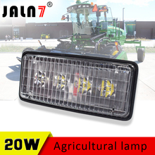 купить 1PCS 24V 20W 4 Leds Tractor forestry Led Work light for Case Class Agricultural vehicles  John Deere free shipping дешево