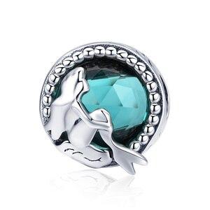 100% 925 серебро ocean новый шарм морская черепаха подвеской в виде морской звезды Русалка бусины, подходят к оригиналу Pandora, для плетения браслетов