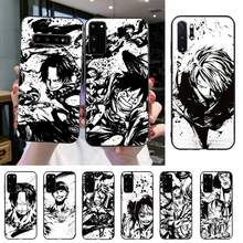 HTXian One piece Anime Shell Telefon Fall Für Samsung S20 S10 S8 S9 Plus S7 S6 S5 Note10 Note9 S10lite(China)